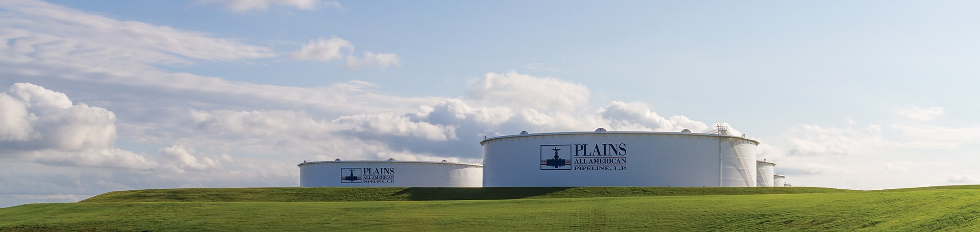 Plains gathers, terminals, and stores liquid products at various facilities.